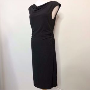 David Meister Cowl Neck Dress Size 8